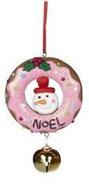 bonhomme de neige donut bonhomme de neige donuts bonhomme de neige décoration de noël bonhomme de neige boutique bruxelles