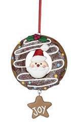 donut pere noel donuts pere noel donut père noël décoration de noël donut decoration de noel donuts bruxelles