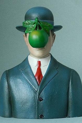 """Buste """"Le Fils de l'Homme"""" de René Magritte"""