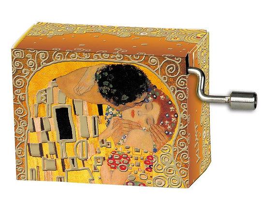 boite a musique le baiser de klimt the kiss music box cadeau original bruxelles cadeau de noel brussels la folie des cadeaux