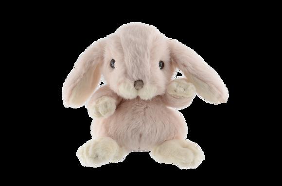 peluche lapin bukovski rose pale cadeau pour enfant cadeau pour bébé cadeau de noël