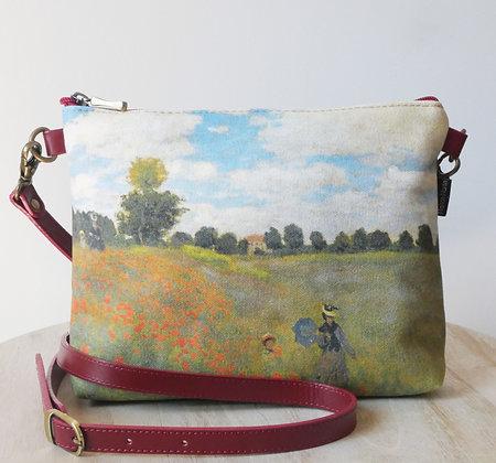 sac les coquelicots de claude monet sac a main les coquelicots de monet idée de cadeau pour femme bruxelles galerie boutique