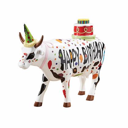 vache happy birthday cow parade cadeau original pour anniversaire bruxelles la folie des cadeaux galerie de la reine