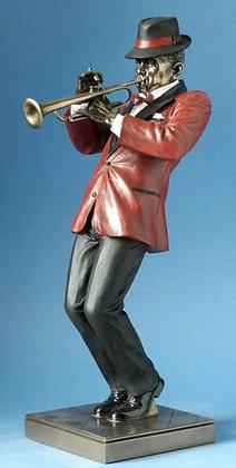 figurine joueur de trompette sculpture trompettiste boutique cadeau bruxelles magasin bruxelles joueur de jazz boutique jazz