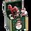 coffre à jouets noël boite à musique boite musicale cadeau de noël décoration de noel bruxelles la folie des cadeaux belgique
