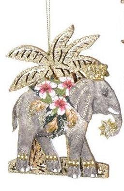 éléphant decoration de noël elephant décoratif eléphant gisela graham élephant collection magasin de cadeaux bruxelles