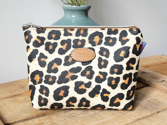 cadeau pour femme cadeau de noel pour femme bruxelles sac leopard trousse maquillage leopard boutique cadeau bruxelles