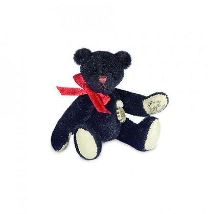 hermann ours de collection hermann teddy miniature ours noir hermann teddy miniaturen magasin ours de collection bruxelles