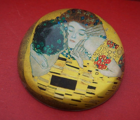 Gustav Klimt | Presse papier Le Baiser