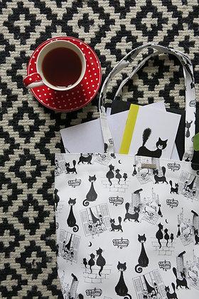 Les Chats de Dubout | Grand sac shopping