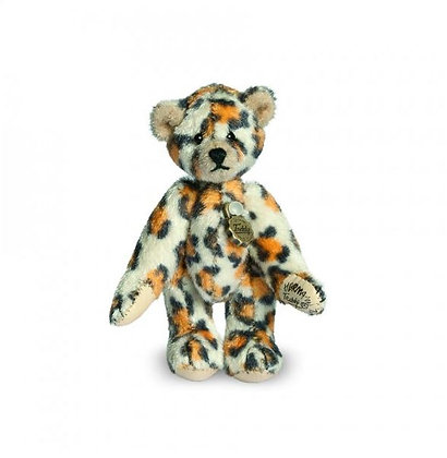leopard de collection hermann teddy miniature léopard de collection teddy hermann miniaturen boutique collectionneur d'ours