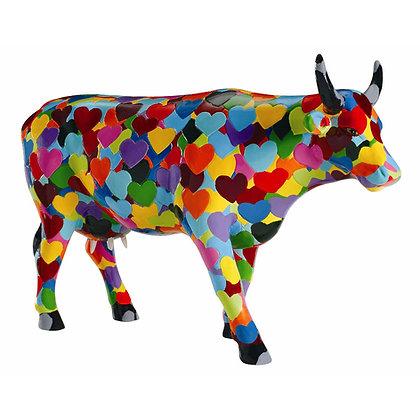 vache cow parade cowparade heartstanding galerie de la reine la folie des cadeaux femme original boutique ouvert dimanche