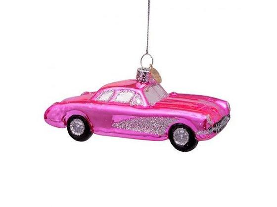 cadillac rose decoration de noel cadillac rose décoration de noël boule de noel cadillac rose boutique cadeaux bruxelles