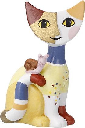 figurine chat Riposa Wachtmeister chat nicola sculpture chat goebel porcelaine la folie des cadeaux bruxelles cadeau de noel