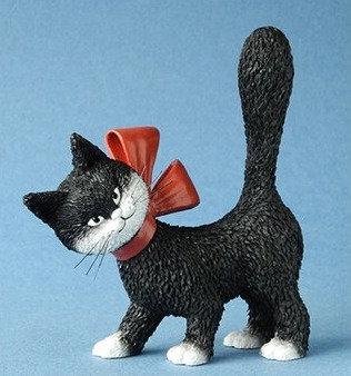 les chats de dubout la minette parastone belgique chat dubout bruxelles figurine chatte noire dubout sculpture chat noir