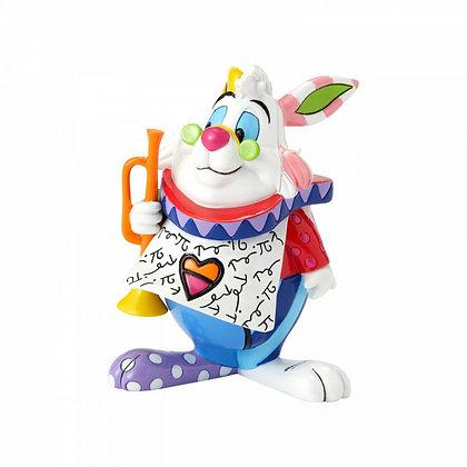 disney britto enesco lapin alice au pays des merveilles bruxelles cadeau belgique figurine lapin sculpture lapin alice