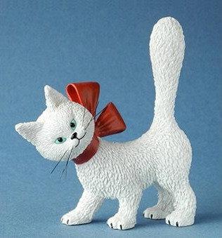 les chats de dubout la minette parastone belgique chat dubout bruxelles figurine chatte blanche dubout sculpture chat blanc