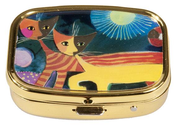 pilulier boite a pilules chat Rosina Wachtmeister Cats with sun cadeau de noel pour femme bruxelles magasin ouvert dimanche