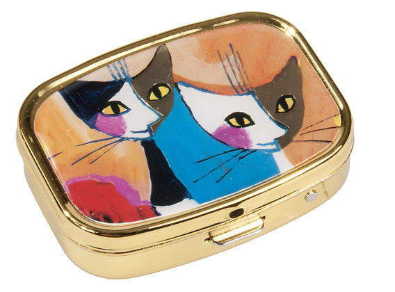 pilulier boite a pilules chat Rosina Wachtmeister congratulation cadeau de noel pour homme bruxelles magasin ouvert dimanche