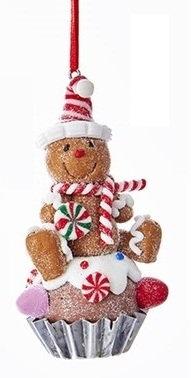 bonhomme de pain d'épice cupcake decoration de noel bonhomme de pain d'epice cupcake boutique cadeaux noel bruxelles