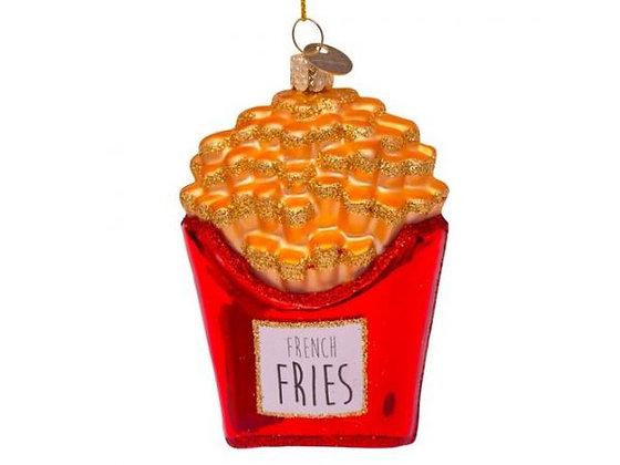 frites cornet de frites décoration de noël frite boule de noel frite decoration de noel cornet de frite boutique bruxelles