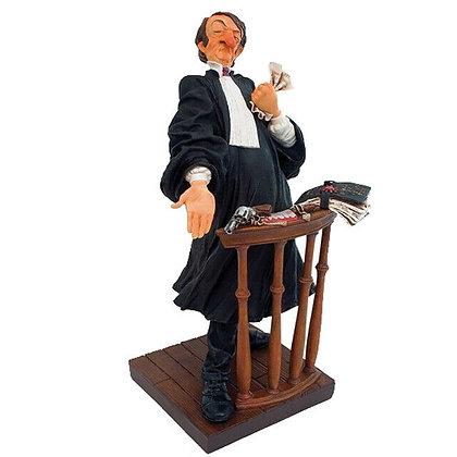 figurine maitre moyenne taille métier avocat cadeau pour homme bruxelles magasin bruxelles sculpture Forchino parastone