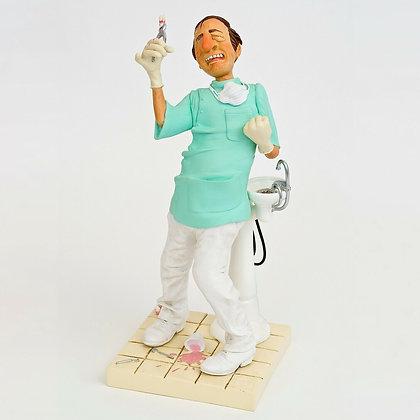 Cadeau original pour un dentiste cadeau de remerciement pour un médecin sculpture bruxelles figurine brussels folie cadeau