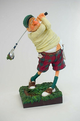cadeau anniversaire pour homme boutique bruxelles cadeau pour golfeur magasin brussels figurine forchino sculpture parastone