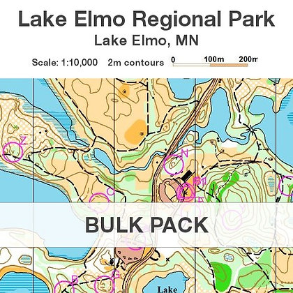5-Pack - Lake Elmo POC Maps