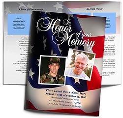 US Flag Patriotic America Soilder Veteran Obituary