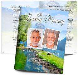 Obituary Creek Water Trees Reflection Obituary