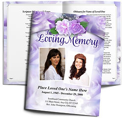 Purple Flowers Lavendar Obituary