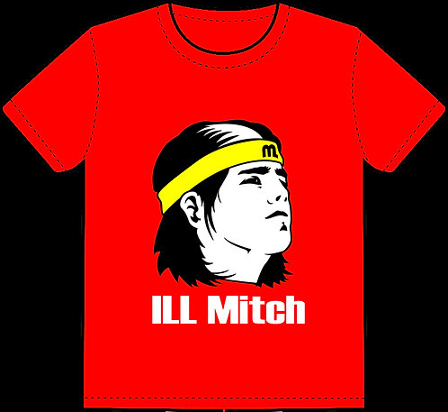 Classic Red ILL Mitch T Shirt