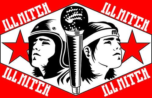 Classic ILL Mitch Sticker 4 pack