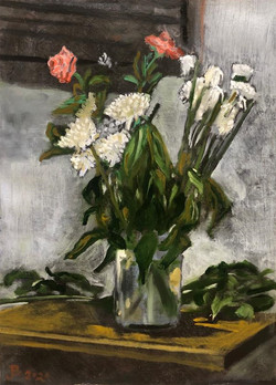 Still Life with Flower Vase