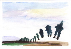 Landscape with Jumping Trees