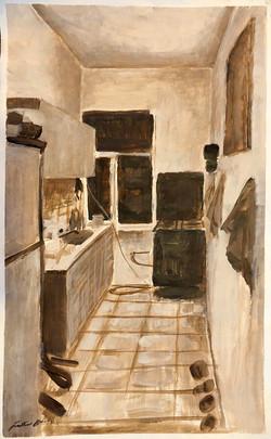 Sketch for Kitchen Interior