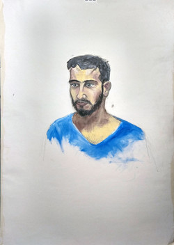 Portrait of Asaf Rabi