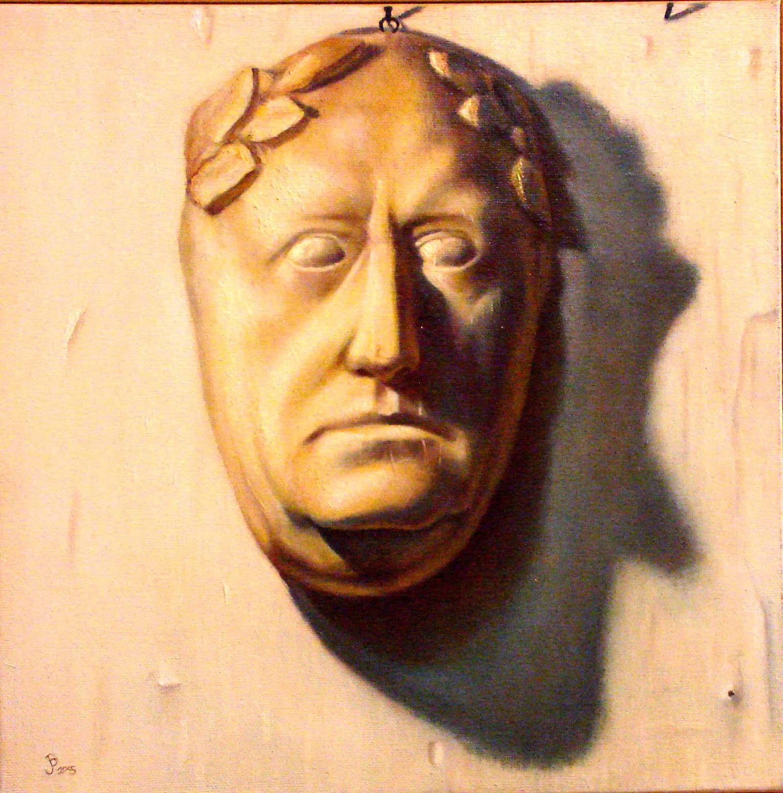 Roman Death Mask