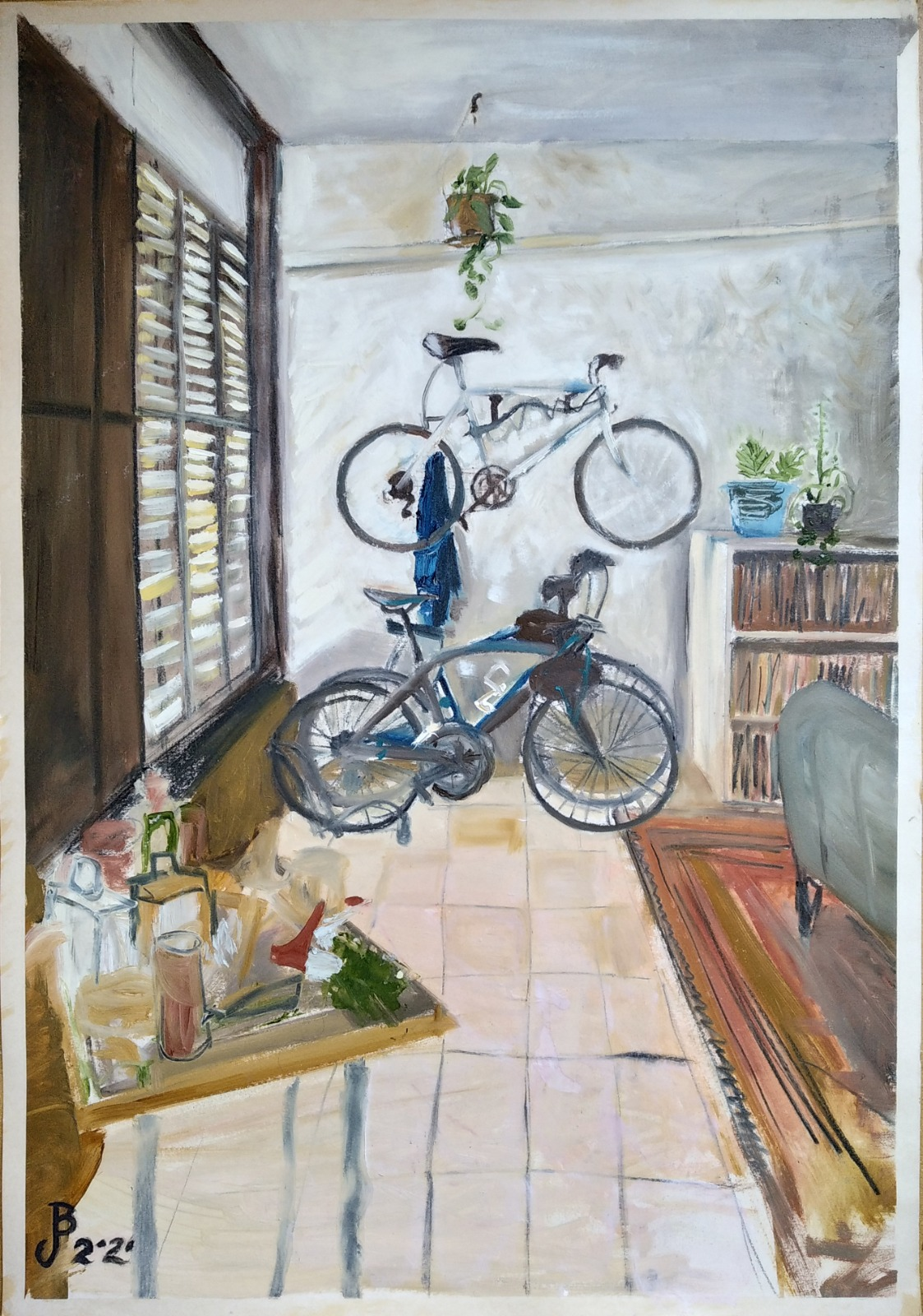 Interior with Bicycles