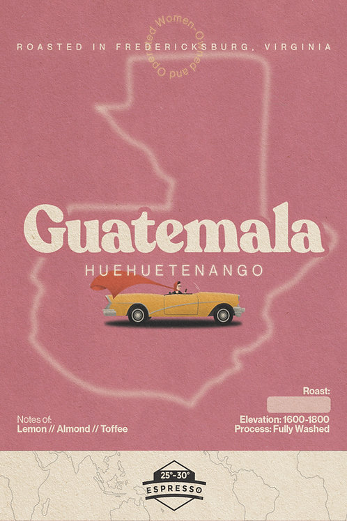 Guatemala - Huehuetenango - 12oz.