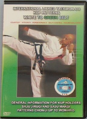 ITF Taekwondo White - Green Belt DVD