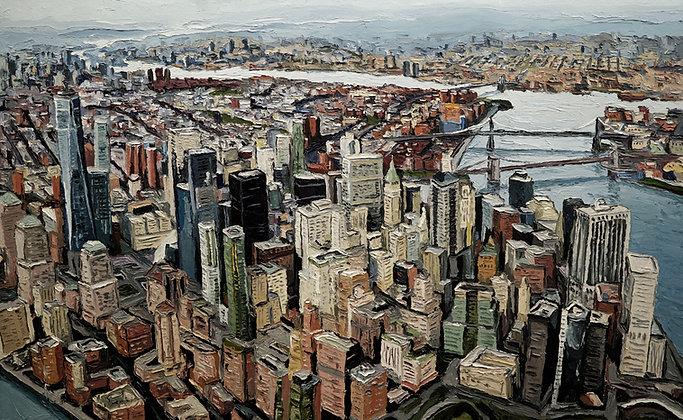 NYC Towards Brooklyn