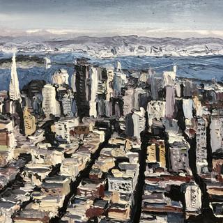 San Francisco Oil Painting | Mike Fantuz