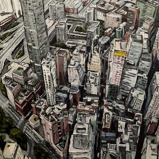 New York CIty painting | Mike Fantuz
