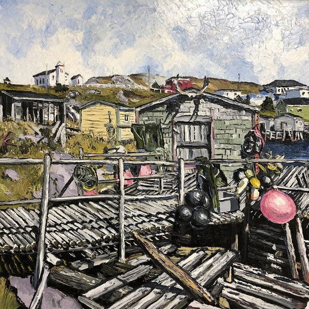 Grand Bruit Newfoundland Painting | Mike Fantuz