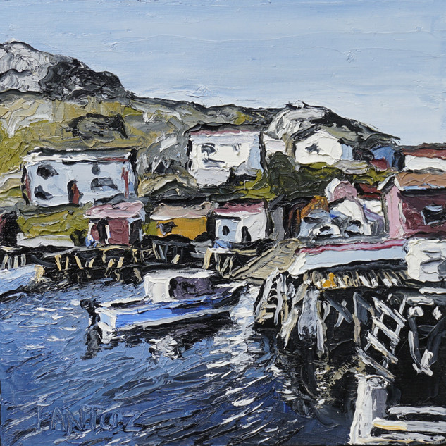 McCallum Newfoundland painting | Mike Fantuz