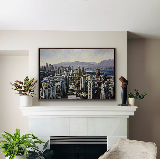 Vancouver Canada Original Art | Mike Fantuz