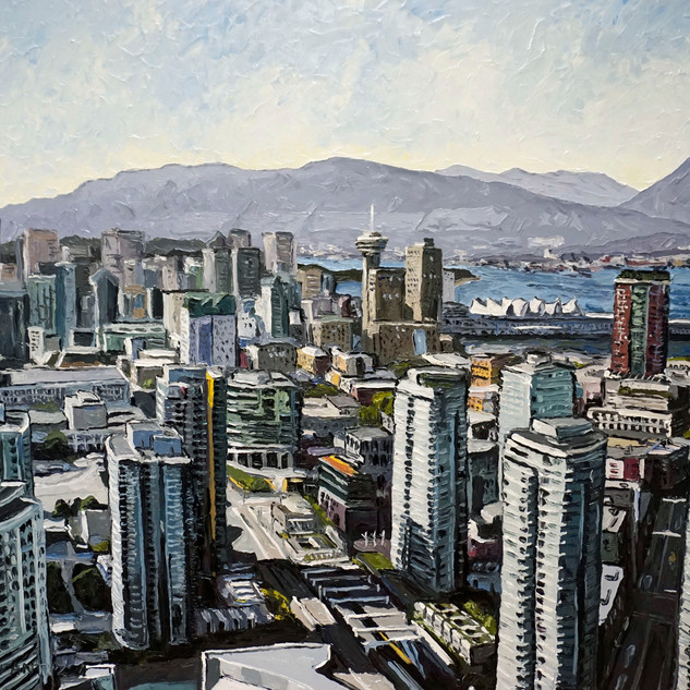 Vancouver Canada wall art painting | Mike Fantuz