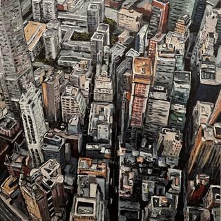 New York City Original art painting | Mike Fantuz
